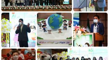 جشن روز جهانی کودک با حضور مدیر عامل محترم بیمارستان
